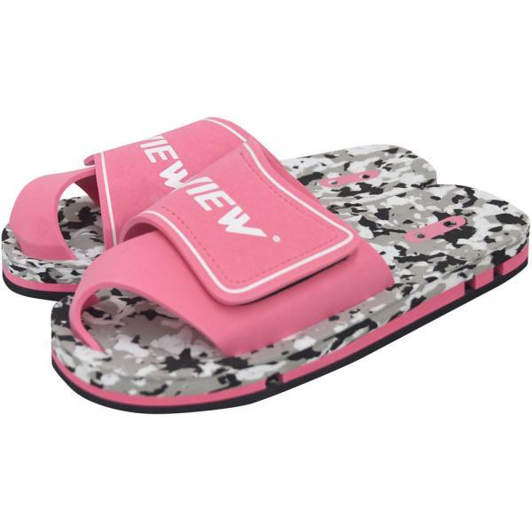 VIEW ビュー 水泳 競泳 スイミング 水球 シューズ VIEWスイムサンダル VA0106 ピンク