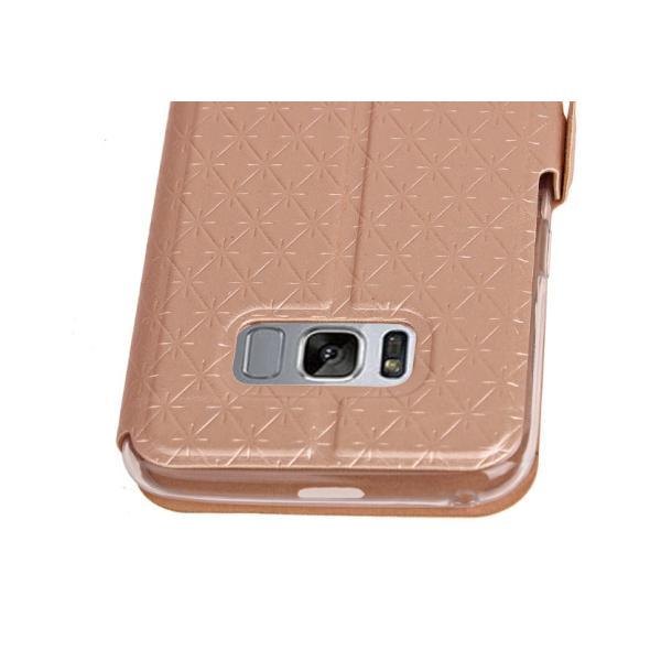 Galaxy S8 ケース Galaxy S8+ カバー S8Plus ギャラクシー 手帳型 窓付き 横開き スマホケース SC-02J SCV36 SC-03J SCV35 送料無料|shzshop|05