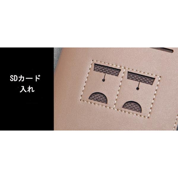 財布 サイフ コインポケット メンズ 大容量  二つ折り カード最大16枚収納 短財布  合成革 小銭入れ 写真入れ 折財布  送料無料 shzshop 11