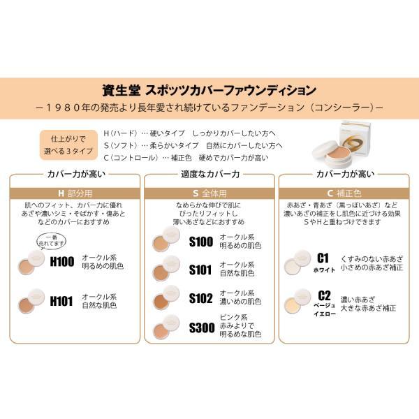スポッツカバー ファウンデイションH100(部分用コンシーラーオークル系明るめの肌色)|sian|03