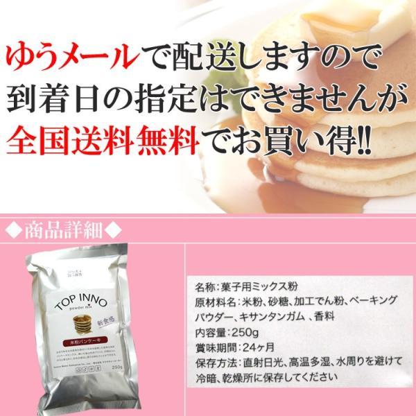 ポイント消化 送料無料 米粉 ドーナッツ マフィン 小麦不使用 グルテンフリー ホットケーキ 米粉パンケーキミックス 250g お試し セール siasunet 04