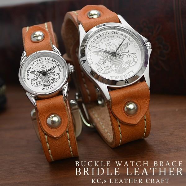 67f0a9ca4a 腕時計 時計 メンズ レディース 送料無料 KC,s ケイシイズ ウォッチ ブレス ブレスレット バックルウォッチブレス ...