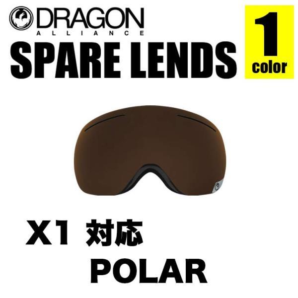 DRAGON ドラゴン スペアレンズ X1 LENS エックスワン レンズ LUMALENS POLARIZED ルーマレンズ ポラライズド