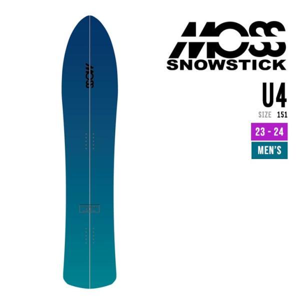 MOSS SNOWSTICK モス スノースティック 21-22 U4 ユーフォー [早期予約] [特典多数] スノーボード