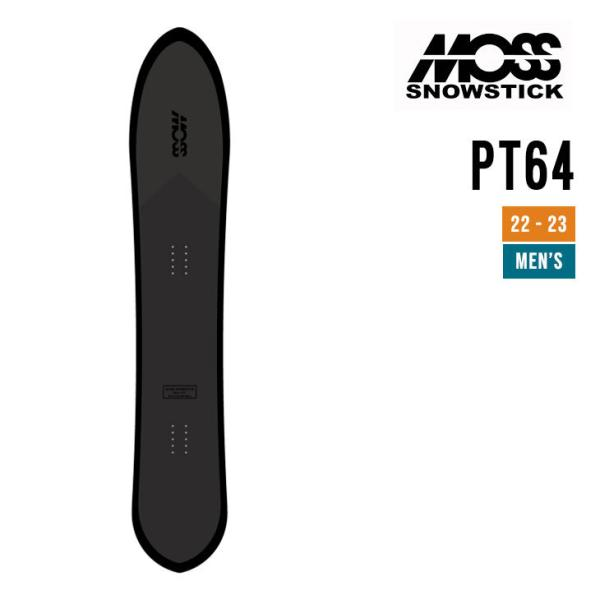 MOSS SNOWSTICK モス スノースティック 21-22 64PT ピーティー [早期予約] [特典多数] スノーボード
