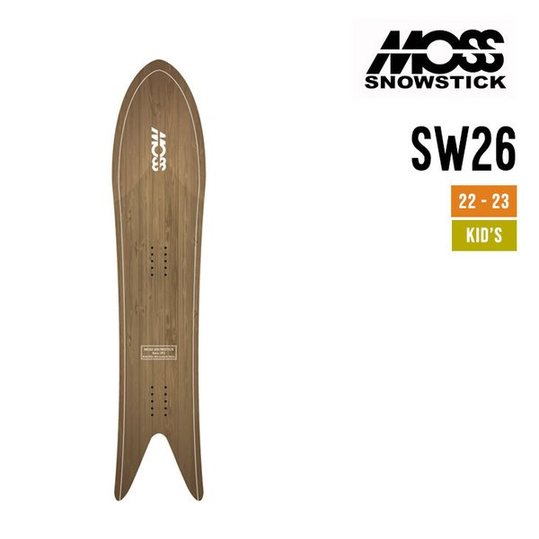 MOSS SNOWSTICK モス スノースティック 21-22 26SW エスダブリュー [早期予約] [特典多数] スノーボード
