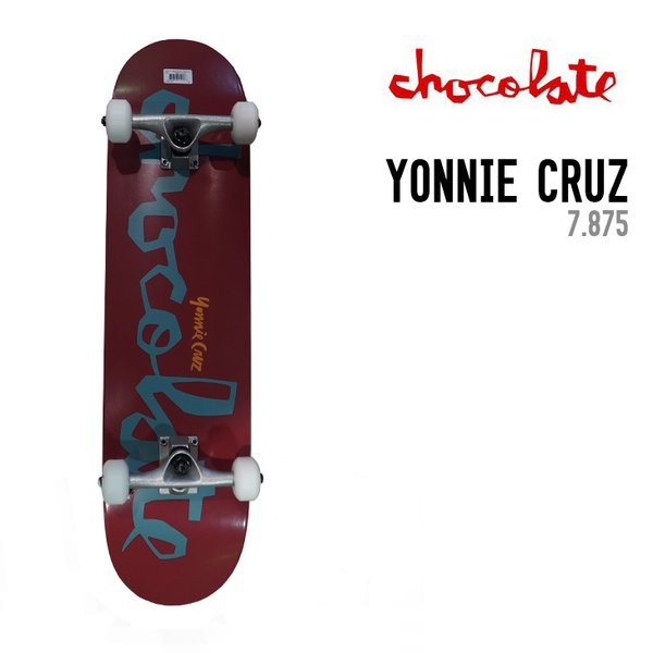 CHOCOLATE チョコレート PRICE POINT COMPLETE YONNIE CRUZ 7.875 コンプリート スケートボード 完成品