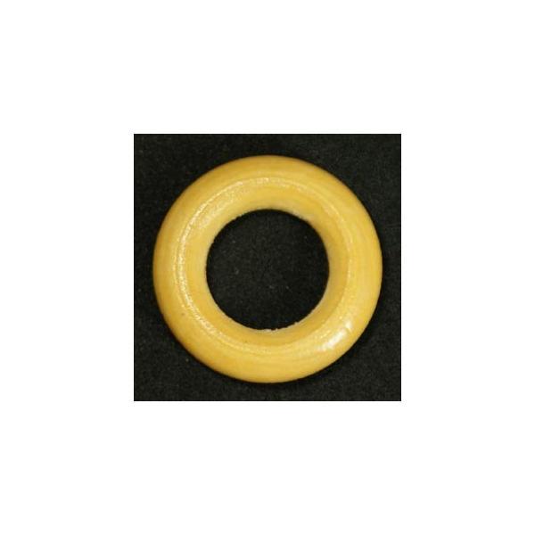 ウッドビーズ:ドーナツ30mm 02