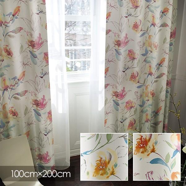 Disney カーテン ALICE アリス Rose garden / ローズガーデン 100×200cm (メーカー直送品) sign-market