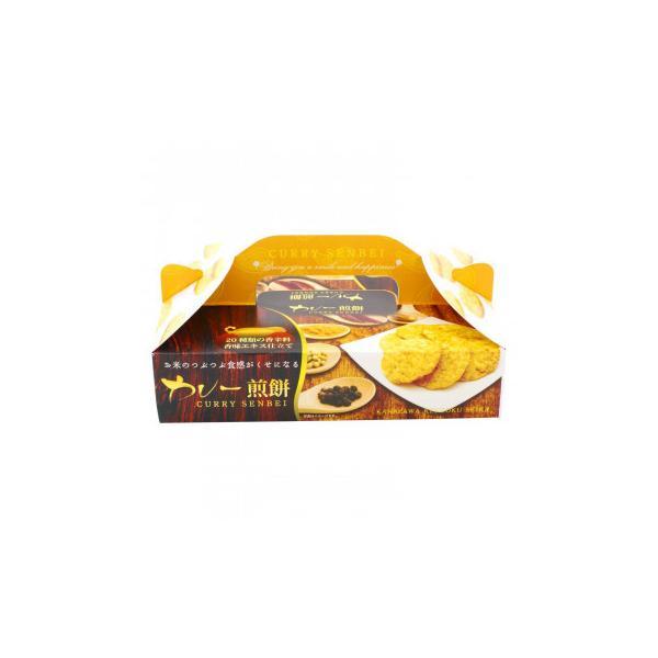 送料無料 (代引き不可)金澤兼六製菓 ギフト カレー煎餅BOX 10枚入×40セット CRB-5