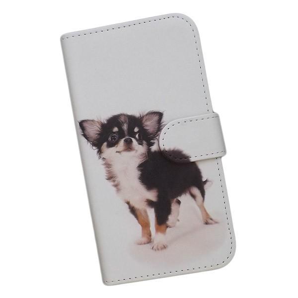 accc432732 スマホケース 手帳型 プリントケース 犬 チワワ かわいい iPhone ...