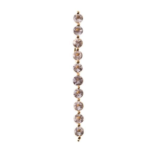 10金ホライゾンイヤークライマーピアス/片耳分/エレノアジュエリー/Elenore Jewelry|silveringrowth|06