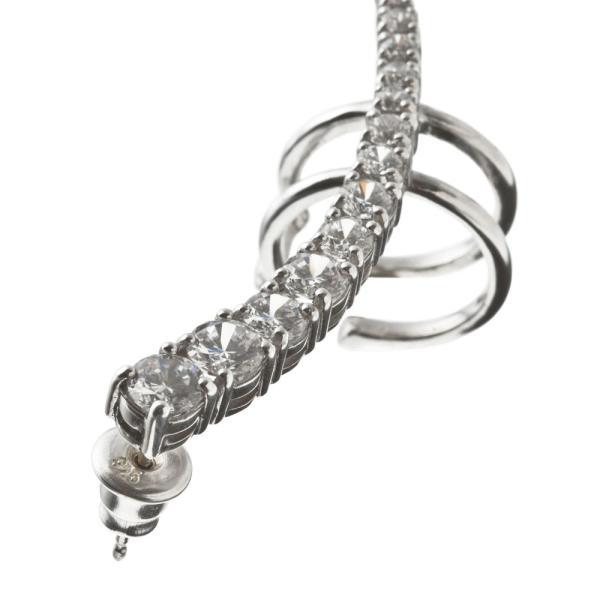 パヴェイヤークライマーピアス/片耳分/エレノアジュエリー/Elenore Jewelry|silveringrowth|04