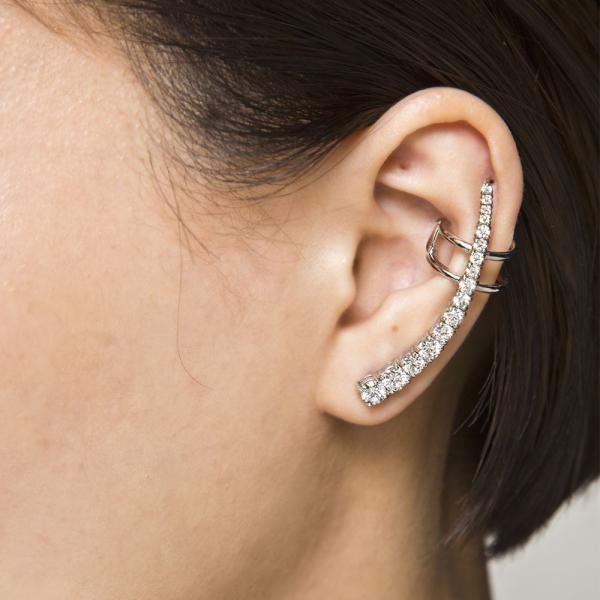 パヴェイヤークライマーピアス/片耳分/エレノアジュエリー/Elenore Jewelry|silveringrowth|09