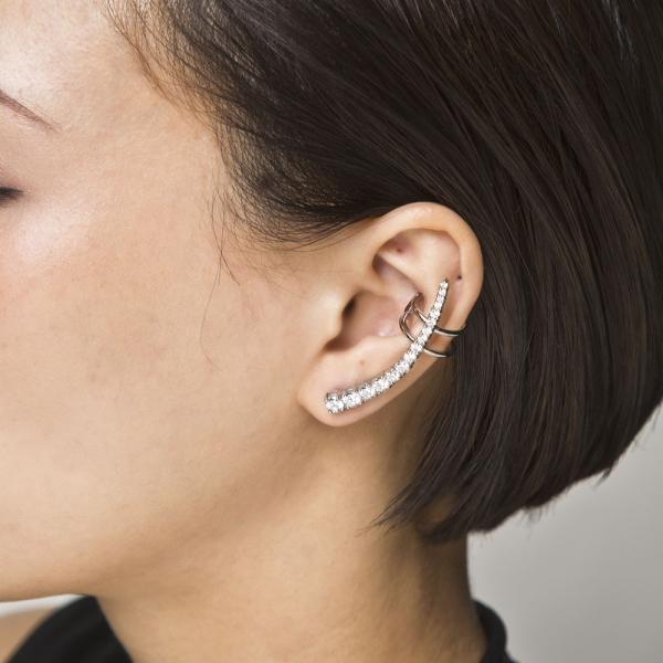 パヴェイヤークライマーピアス/片耳分/エレノアジュエリー/Elenore Jewelry|silveringrowth|10