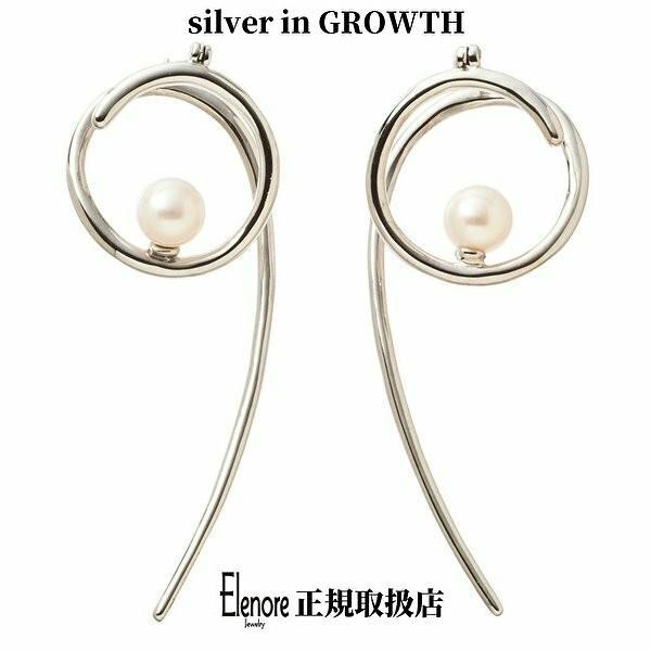 トリッキースクロールピアス/左右セット/エレノアジュエリー/Elenore Jewelry|silveringrowth