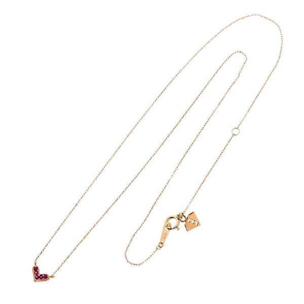 10金ルビーハートペンダント/エレノアジュエリー/Elenore Jewelry silveringrowth 02