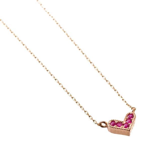 10金ルビーハートペンダント/エレノアジュエリー/Elenore Jewelry silveringrowth 04