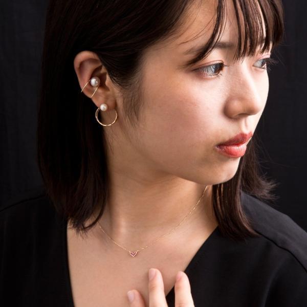 10金ルビーハートペンダント/エレノアジュエリー/Elenore Jewelry|silveringrowth|08