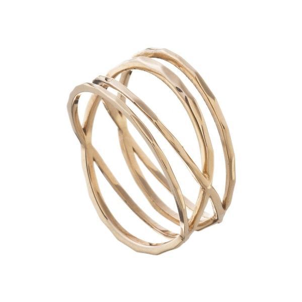 10金ラップリング/エレノアジュエリー/Elenore Jewelry|silveringrowth|05