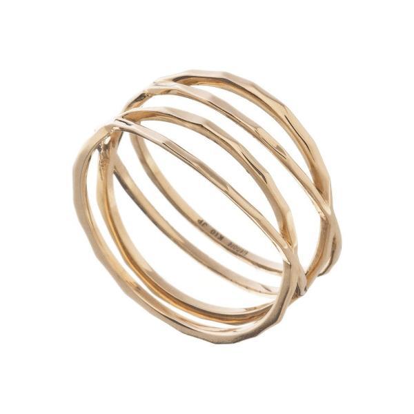 10金ラップリング/エレノアジュエリー/Elenore Jewelry|silveringrowth|08
