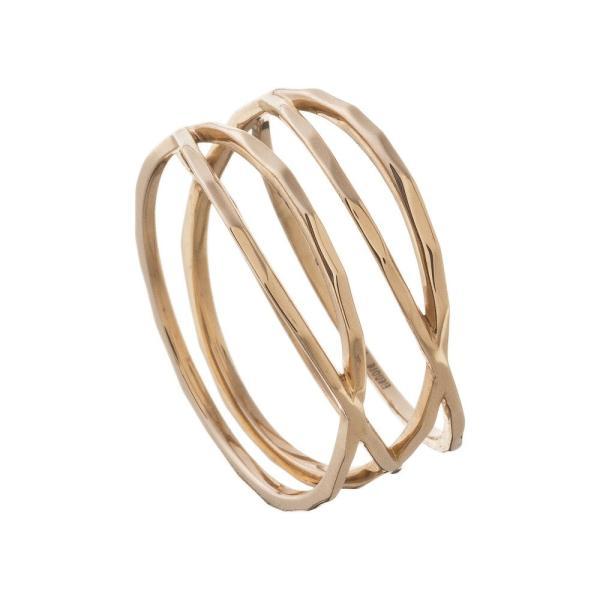 10金ラップリング/エレノアジュエリー/Elenore Jewelry|silveringrowth|09