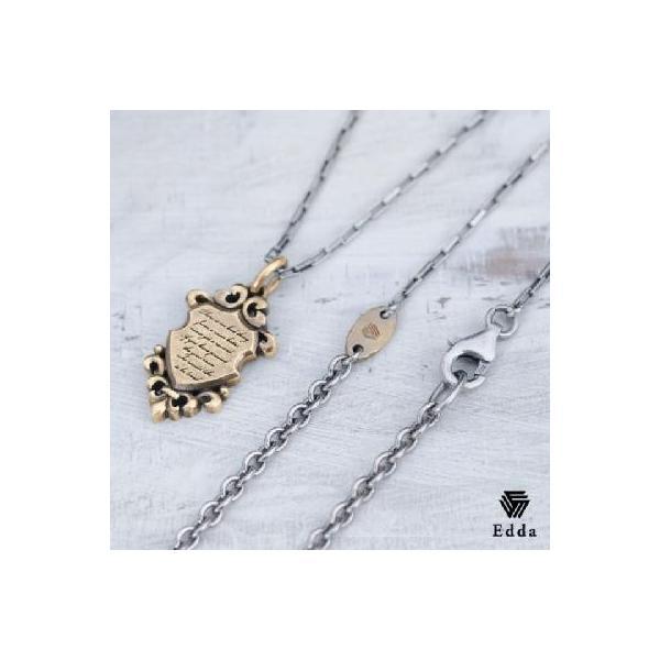 Edda(エッダ) ネックレス 真鍮 プレート アンティーク|silveringrowth|02