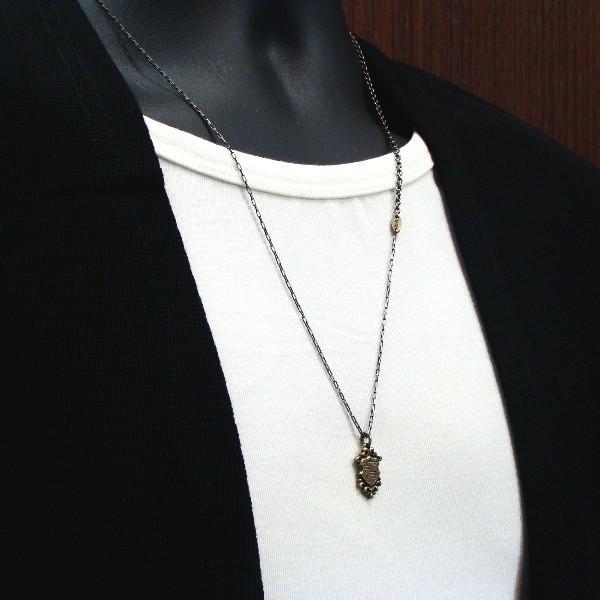 Edda(エッダ) ネックレス 真鍮 プレート アンティーク|silveringrowth|06