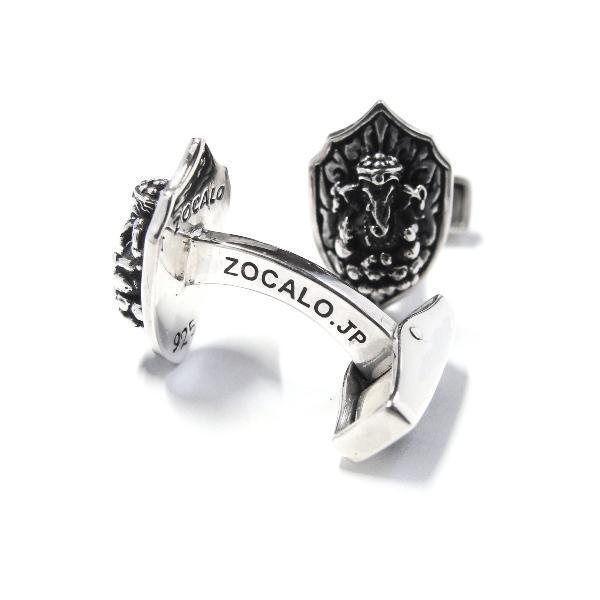 ZOCALO (ソカロ) ガネーシャ・カフリンク・タイプ2(カフスボタン)|silveringrowth|02