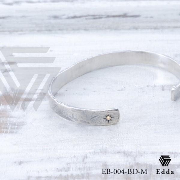 Edda エッダ バングル ペアバングル メンズサイズ eb-004-bd-m