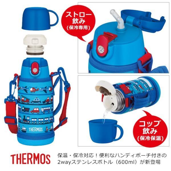 サーモス 2way 水筒 サーモス ステンレスボトル 水筒 コップ サーモス 水筒 子供用 サーモス 水筒 カバー サーモス 水筒 600ml ストロー 宅配便送料無料|sime-fabric|02