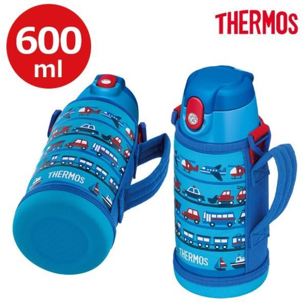 サーモス 2way 水筒 サーモス ステンレスボトル 水筒 コップ サーモス 水筒 子供用 サーモス 水筒 カバー サーモス 水筒 600ml ストロー 宅配便送料無料|sime-fabric|05