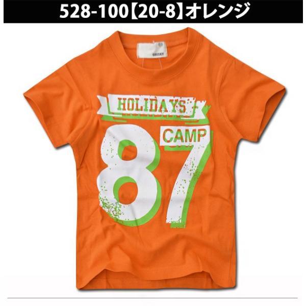 SHISKY アメカジ・プリントTシャツ キッズ ジュニア カレッジデザイン 半袖 ティーシャツ 男の子 110 120 130 140 150 160 2点以上で送料無料|sime-fabric|16
