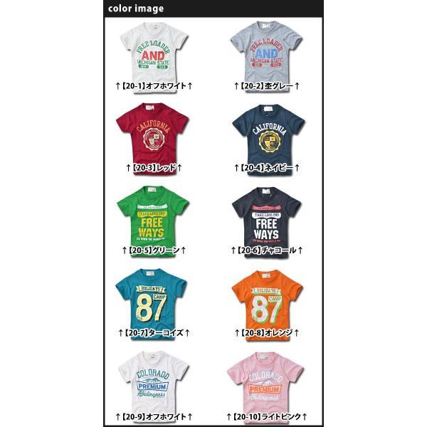 SHISKY アメカジ・プリントTシャツ キッズ ジュニア カレッジデザイン 半袖 ティーシャツ 男の子 110 120 130 140 150 160 2点以上で送料無料|sime-fabric|03