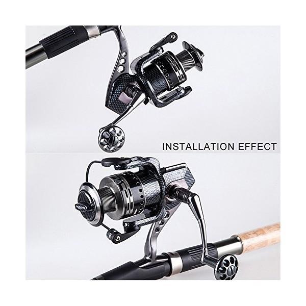スピニングリール 金属製 13+1BBボールベアリング 釣り 釣具-3000 series