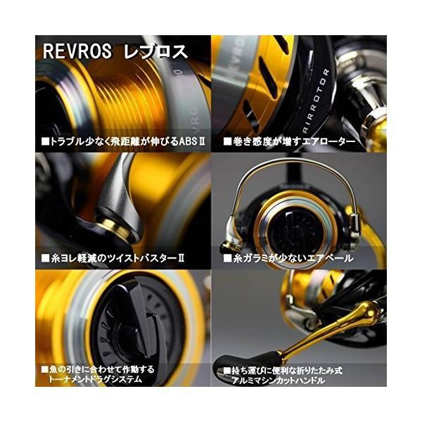 ダイワ(Daiwa) スピニングリール 15 レブロス 2506 (2500サイズ)