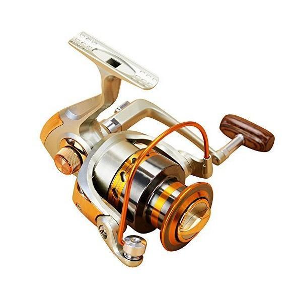 スピニングリール 投げ釣り用 リール フレッシュウォーター 左右交換ハンドル 12BB ギア比:5.5:1-1000 series