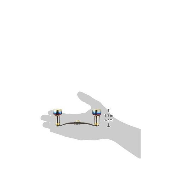 LIVRE(リブレ) リール FullComp クランク (右巻用)  シマノ100用(ガンメタP+ゴールドG)    )