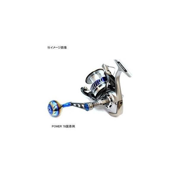 LIVRE(リブレ) POWER78 ダイワ6000番~6500番用左右共通 (ガンメタP+レッドG)
