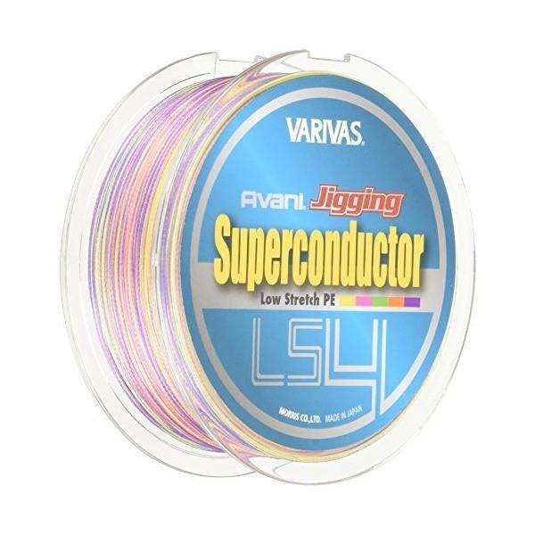 モーリス(MORRIS) PEライン バリバス アバニ ジギング スーパーコンダクター LS4 300m 1.2号 20lb 10m×5色