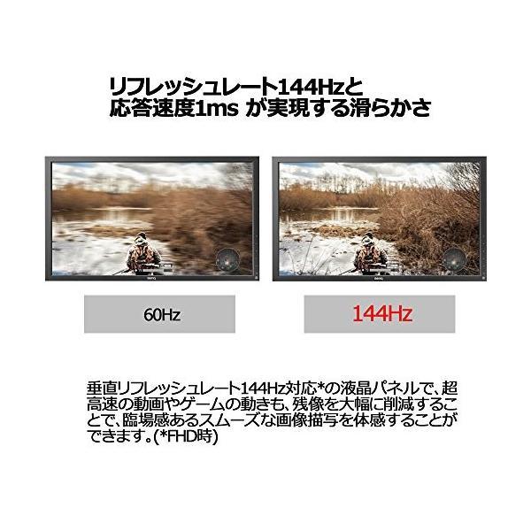 BenQ ゲーミングモニター ディスプレイ ZOWIE XL2720 27インチ FullHD/TNパネル/144Hz/1ms/Black eQua simpleplan