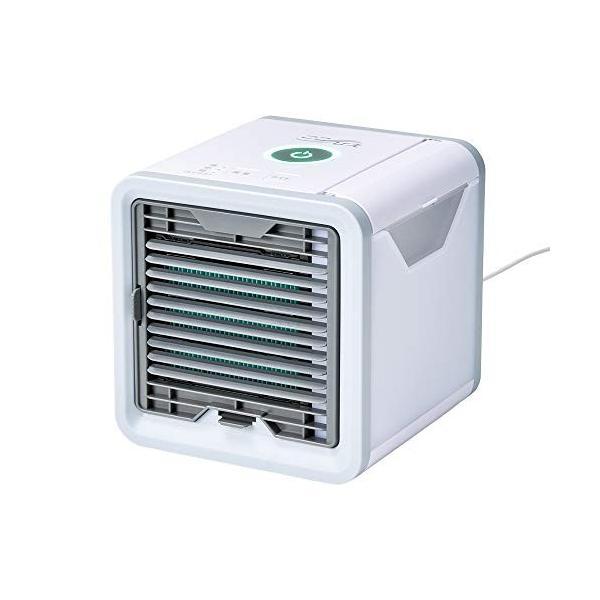 ここひえ 卓上扇風機 サーキュレーター パーソナルクーラー 冷風扇 冷風機 冷風 エアコン  USB扇風機|simpleplan