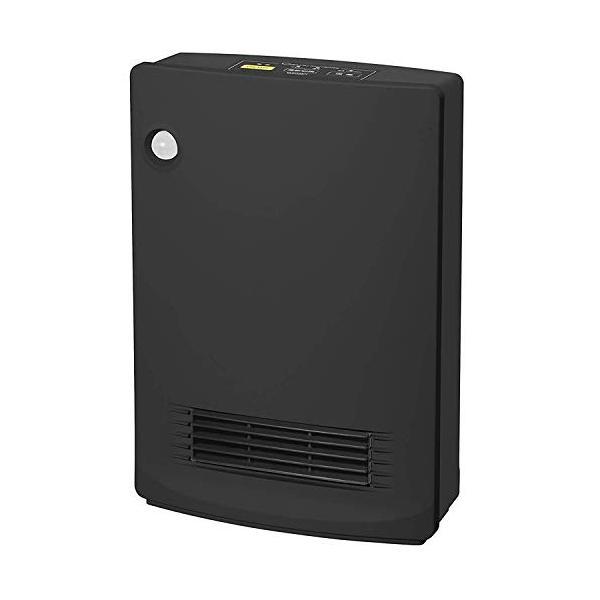 山善 人体感知センサー付セラミックヒーター (転倒OFFスイッチ 消臭フィルター付) ブラック ESF-VB08(B)|simpleplan|12