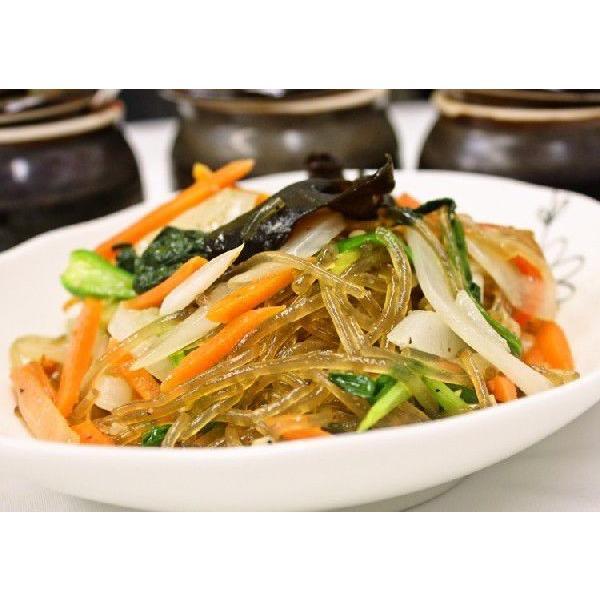 手作りキムチ専門店 チャプチェ 本場の味付け 180g×10個 野菜入り 冷凍 解凍後調理時間30秒