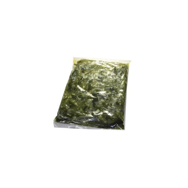 手作りキムチ専門店 茎わかめナムル300g 炒めナムル 塩味付け 冷凍品 歯ごたえが戻る(汁は捨てずにナムルに浸けたままにする)【送料無料】