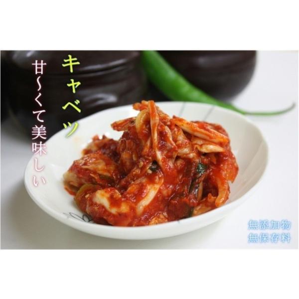 手作りキムチ専門店 フルーツキムチ きゃべつ キャベツキムチ 500g