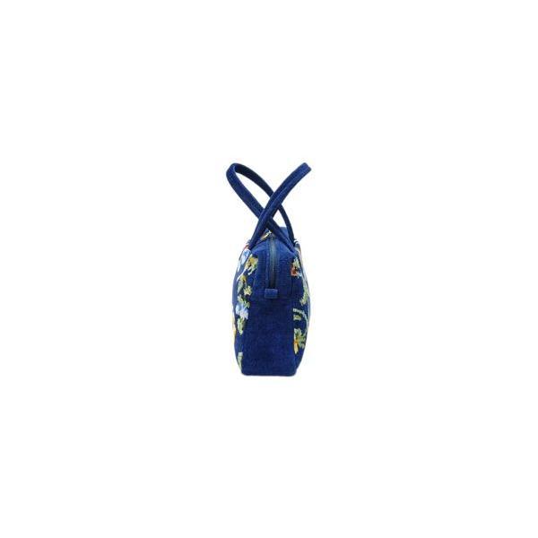 フェイラー FEILER ニュービオラ ハンドバッグ 紺 ネイビー NVO-152039-NV