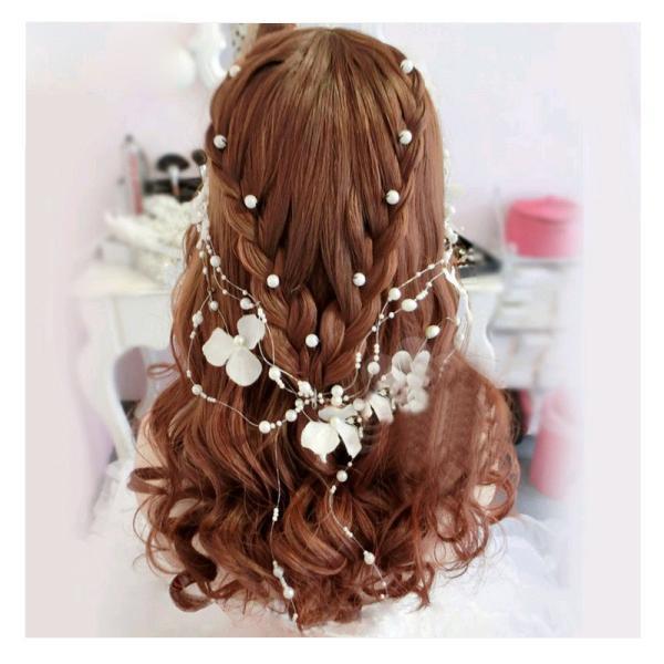 髪飾り かわいい パール ヘアピン 10本セット ヘアアクセサリー おしゃれ 冠婚葬祭 成人式|sinc|02
