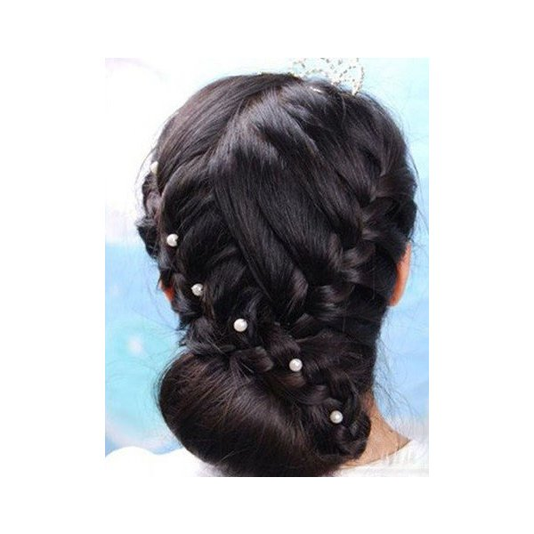 髪飾り かわいい パール ヘアピン 10本セット ヘアアクセサリー おしゃれ 冠婚葬祭 成人式|sinc|06