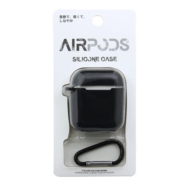 AirPods ケース エアポッズ シリコン iPhone イヤホン アップル Apple メール便OK sincere-inc 06